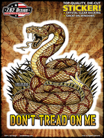 7.62 Design Don't Tread On Me Sticker