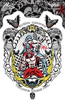 Mitch O'Connell Lucha Libre Sticker