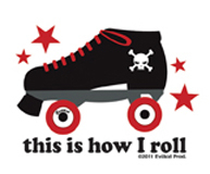 Mini How I Roll Sticker 25-Pack
