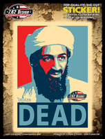 7.62 Design Osama Bin Laden: DEAD 6x8