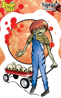 Frank Wiedemann Zombie Kid Douglas Sticker