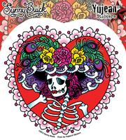 Sunny Buick's Flower Hat Sugar Skull