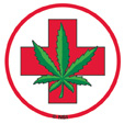 Medical Marijuana 25-pack Mini Stickers