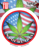 In Pot We Trust Sticker