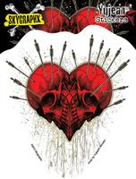 Skygraphx Deathheart Sticker