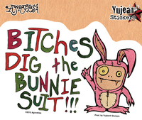 Agorables Bunny Suit Sticker