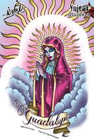 Eric Iovino Muertos Guadalupe Sticker