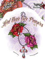 Eric Iovino Hear Our Prayers sticker