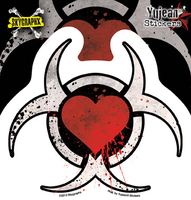 Skygraphx Toxic Heart Sticker