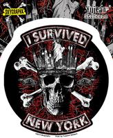 Skygraphx I Survived New York Sticker