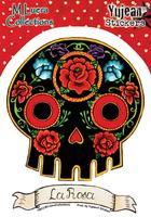 M Luera La Rosa Sticker