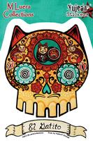 M Luera El Gatito sticker