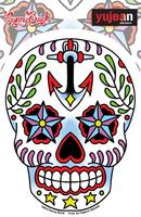 Sunny Buick Ancre Sugar Skull Sticker