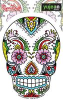 Sunny Buick Lace Sugar Skull Sticker