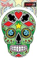 Sunny Buick Lucky Sugar Skull Sticker