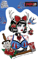 Miss Cherry Martini Snow sticker