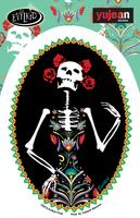 Evilkid Catrina Sticker