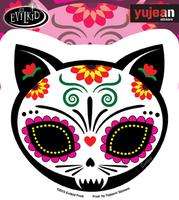 Evilkid Gato Muerto Sticker | Evilkid