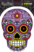 Sunny Buick Eyes Sugar Skull Sticker