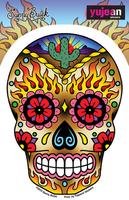 Sunny Buick Western Sugar Skull Sticker