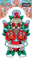 Sunny Buick Toujour Skull Sticker