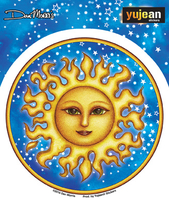 Dan Morris Starry Sun Sticker