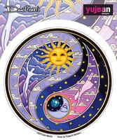 Dan Morris Celestial Yin Yang Sticker