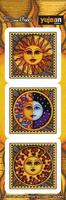 Dan Morris 3 Suns Sticker