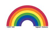 Mini Rainbow Sticker pack of 25