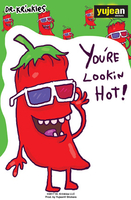 Dr. Krinkles Chili Pepper Sticker