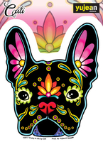Cali French Bulldog Sticker