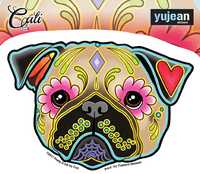 Cali's Pug Sticker