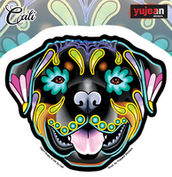 Cali's Rottweiler Sticker | Cali: Pretty In Ink
