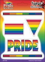 Pride Mini-Sticker Multi-Pak