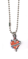 Heartbreaker Rubber Pendant Necklace