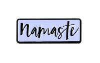 Namaste Enamel Pin