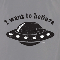 Disstressed Black Spaceship T-shirt