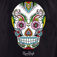 Sunny's Lace Sugar Skull T-shirt