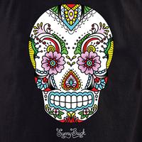 Sunny's Lace Sugar Skull Tote