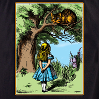 Alice and Cheshire Cat Tote