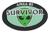 Area 51 Survivor Patch