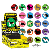 Heidi Barack Dogs Button Box