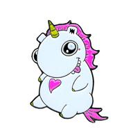 Emi Boz Chubby Unicorn Enamel Pin