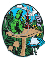 Alice and Caterpillar Patch