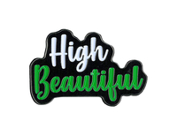High Beautiful Enamel Pin