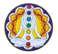 Chakra Large Enamel Pin