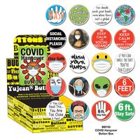 Covid Hangover Button Box