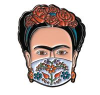 Masked Senora Enamel Pin