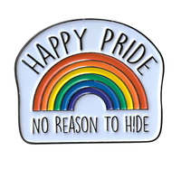 Happy Pride Enamel Pin