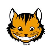 Mini Cheshire Cat Sticker